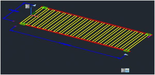 bloc dynamique 3D avec AutoCAD