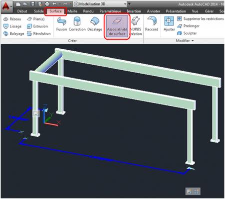 Cr er un bloc dynamique 3d avec autocad aplicit for Logiciel de creation de meuble 3d gratuit