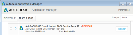 Autocad Mep Service Pack : Autocad service pack versions pour toutes les