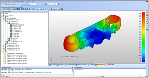 Simulation Mechanical et Nastran