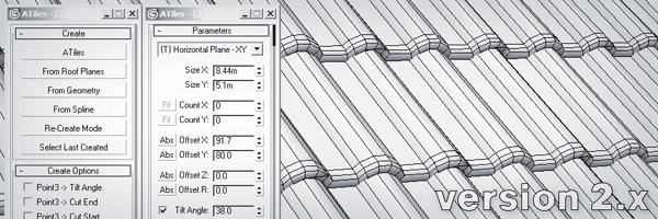 Création de tuiles dans 3DS Max