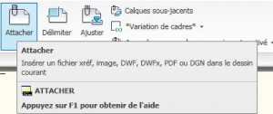 autocad attacher pdf