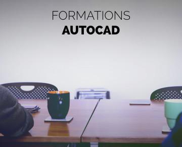Formation Autocad - Inter entreprises perfectionnement (2j)