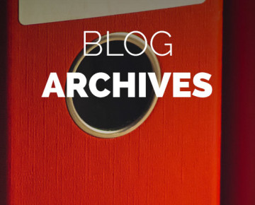 Archives Blog