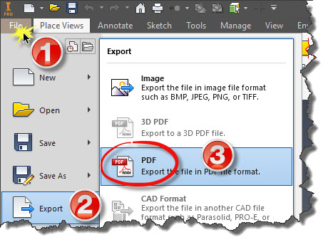 Export PDF iLogic 2018-2