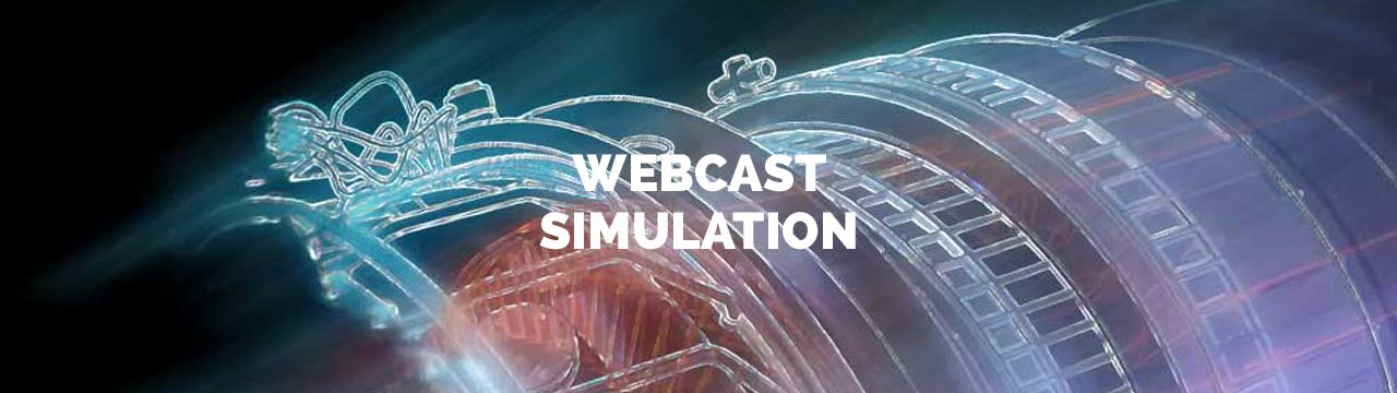 webcast simulation
