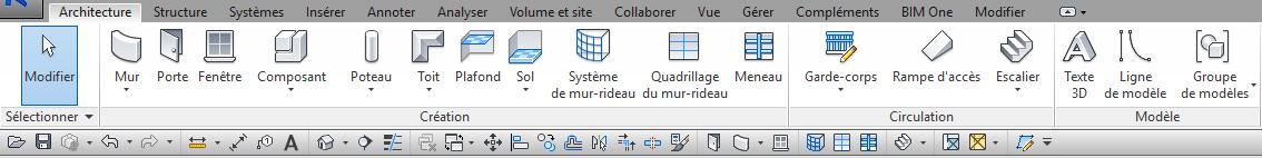 barre d'outils accès rapide