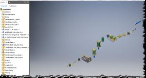 Extraire les coordonnées des pièces d'un assemblage Inventor