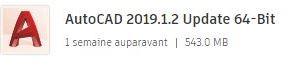 AutoCAD 2019.1.2