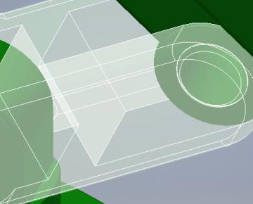 Comment rendre facilement une pièce transparente dans Inventor