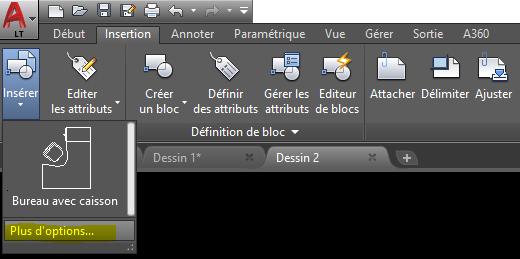 Redéfinir des blocs