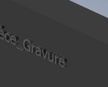 Créer une règle iLogic pour graver une pièce en fonction de son nom
