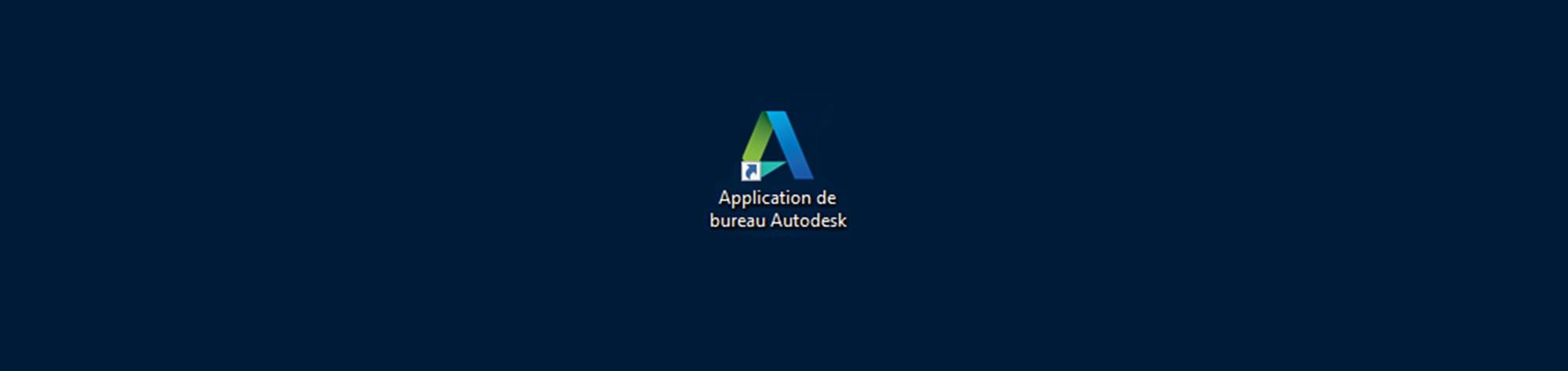 Application de bureau Autodesk