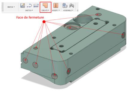volume de fluide interne dans FUSION 360