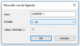 Créer une légende dans REVIT