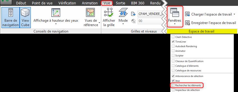 Navisworks - Phasage - TimeLiner
