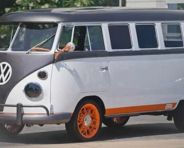 Le minibus Volkswagen revisité par Autodesk