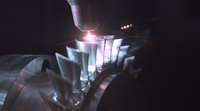 fabrication additive dans Powermill
