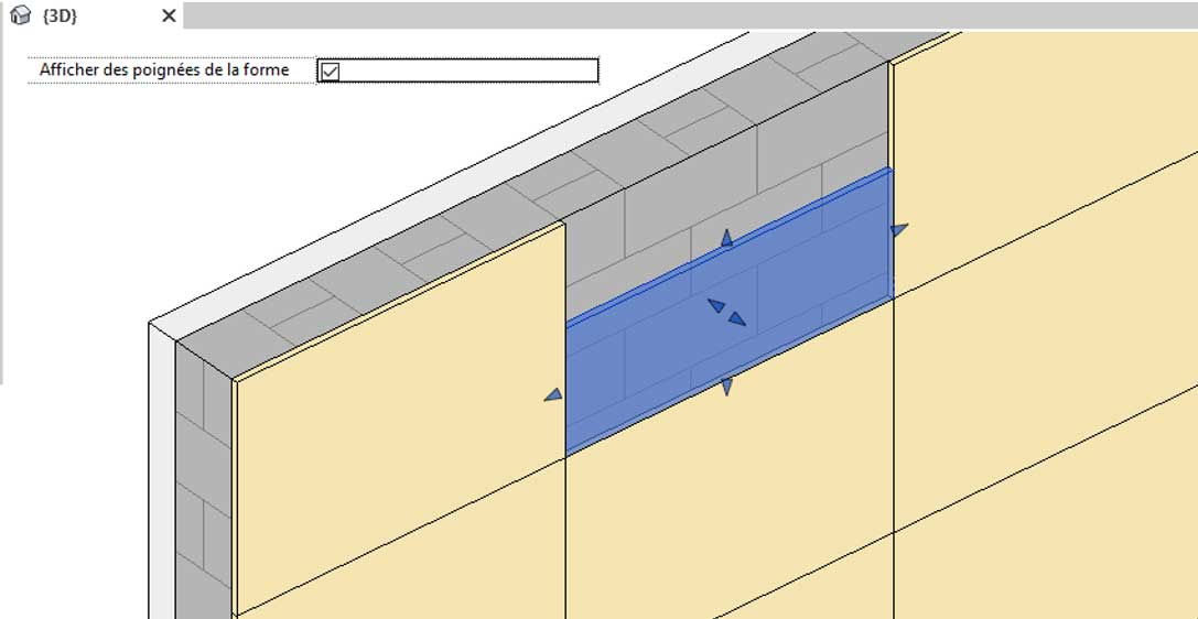 revit utilisation elements