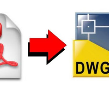 Convertir un fichier PDF dans AutoCAD 2021