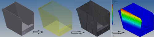 analyse des contraintes dans Inventor Professional 2013