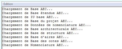 Suppression des objets AEC d'un fichier DWG