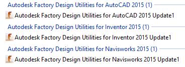 Autodesk Factory Design Utilities 2015 Update Pack 1