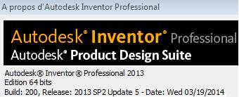 Update 5 Inventor 2013 Service Pack 2