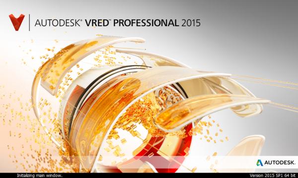 Autodesk VRED 2015 SP1