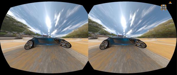 Oculus Rift avec VRED
