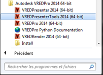 vred presenter tools