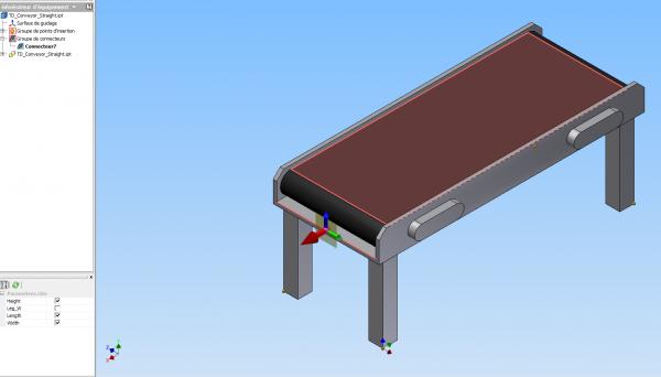 Factory Design Suite 2014 Disparition des axes