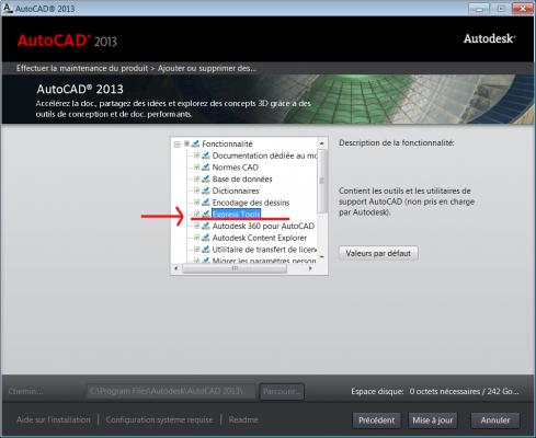 AutoCAD : Installer le menu express   Aplicit