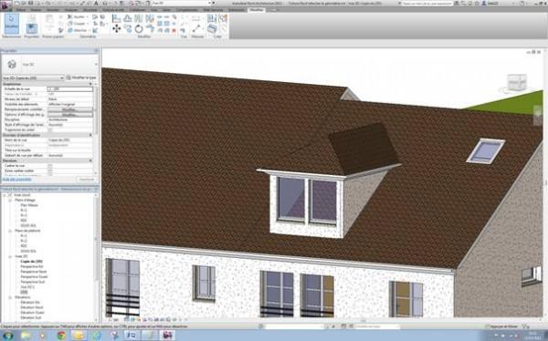revit attachement d 39 une lucarne de toit et cr ation d. Black Bedroom Furniture Sets. Home Design Ideas